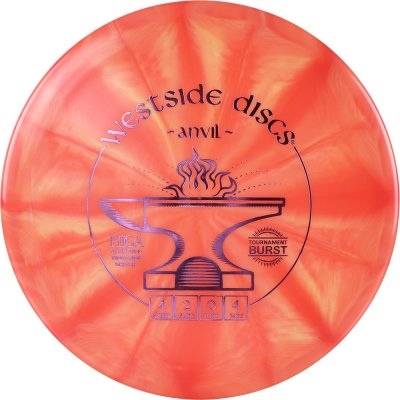 Westside Discs Tournament Burst Anvil